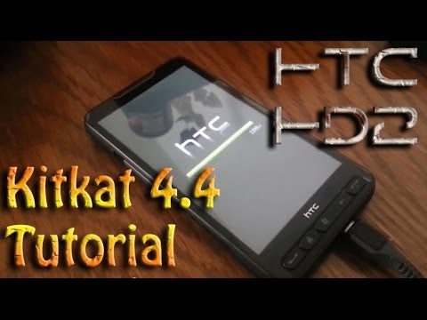 HTC HD2 tutorial installation Kitkat 4.4 NAND with Data on EXT4 2014