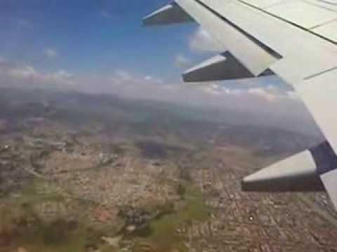 Magnifique vol Adddis Ababa - Libreville. Wonderful flight Addis Ababa - Libreville. boeing 757-200