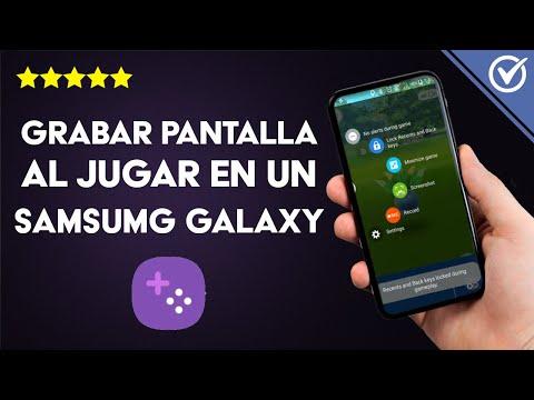 Cómo Grabar la Pantalla al Jugar en un Samsung Galaxy sin App