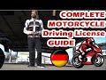 Motorcycle License Guide Germany (A,A1,A2)