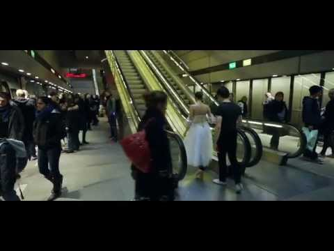 Flash mob Copenhagen Metro and The Royal Danish Theatre