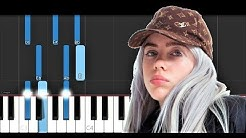 Billie Eilish - All the good girls go to hell (Piano Tutorial)