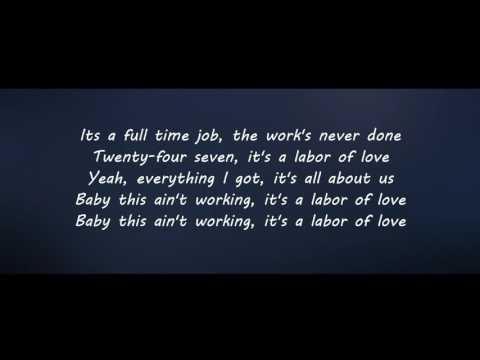 BONJOVI - Labor Of Love lyric