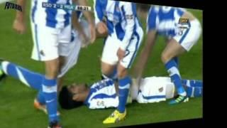 Gol de chilena de Carlos Vela - Real Sociedad vs Mlaga 3-2 Fecha 15 La Liga BBVA 2011-2012