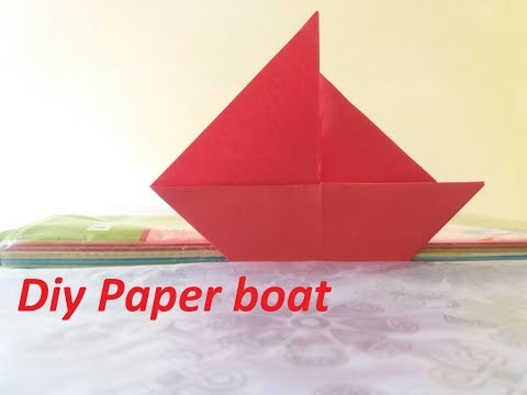 How to Make a Paper Paper boat | Diy paper boat | Step by Step Tutorial