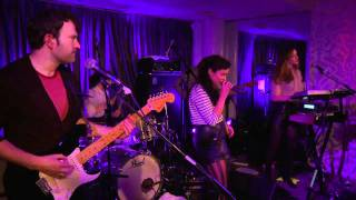 New Young Pony Club - The Bomb live at Virgin Red Room launch party