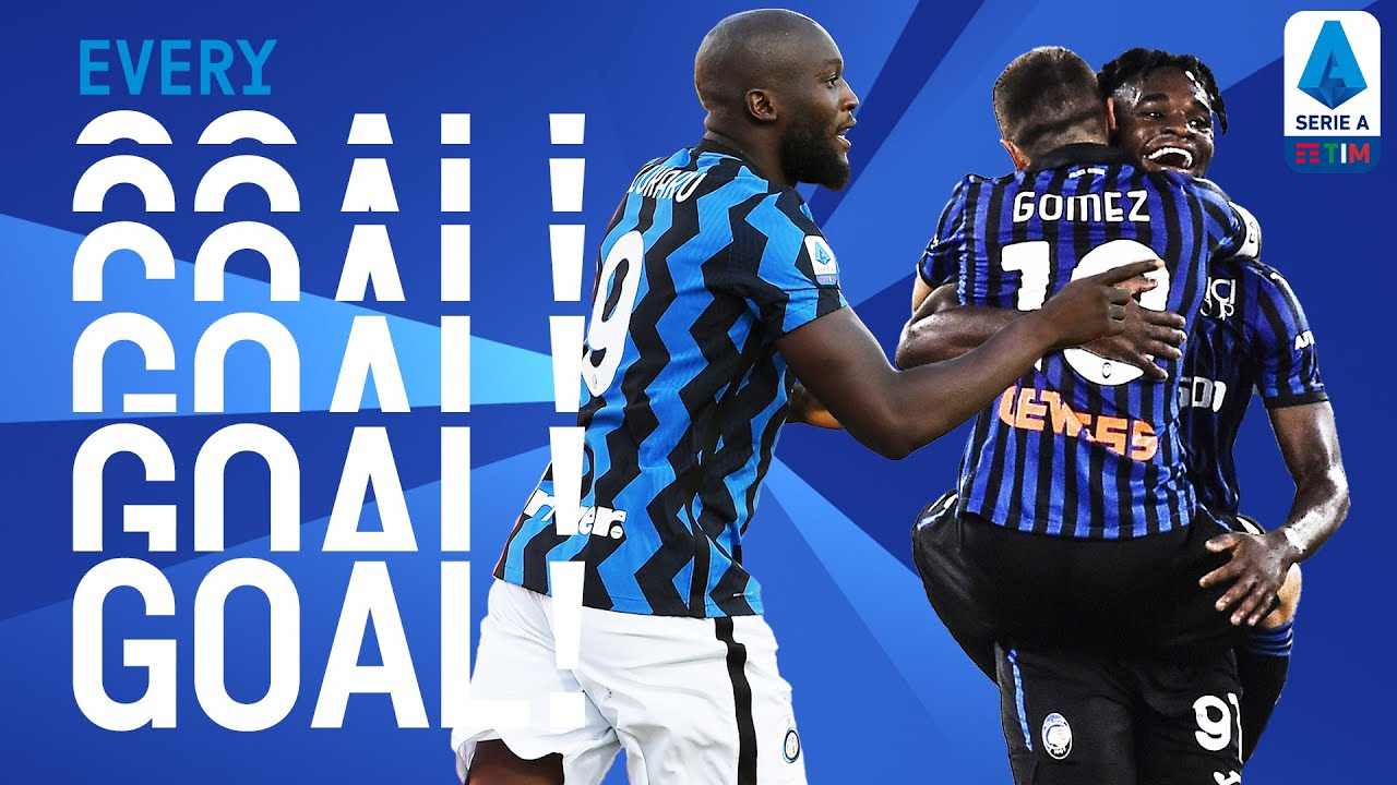 Lukaku bags a brace and Atalanta score four! | EVERY Goal | Round 1 | Serie A TIM