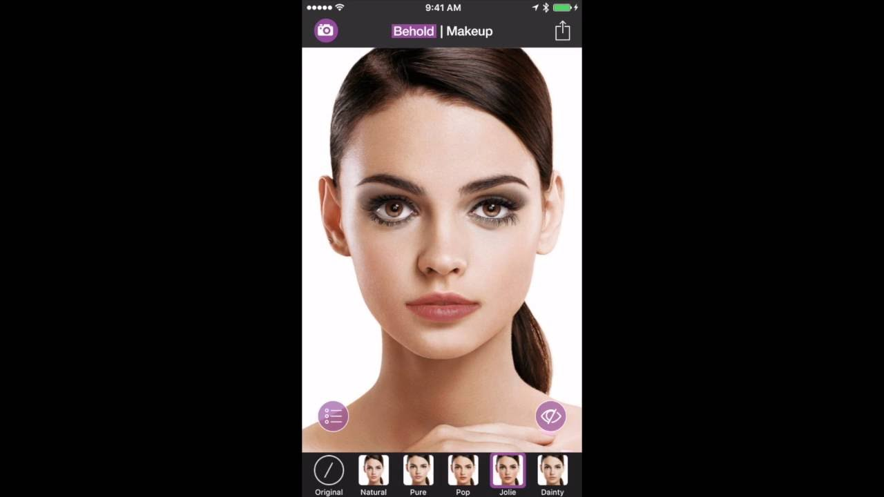 Behold - The Best Makeup App Only on iPhone