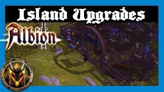 Island Upgrades! - Albion Online Closed Beta