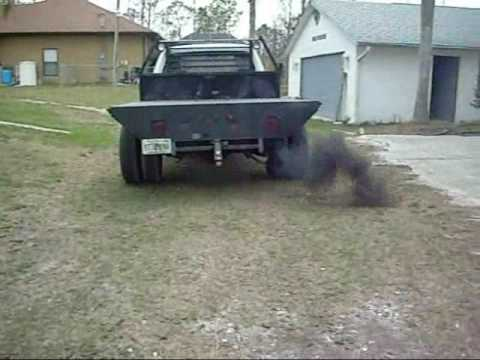 1991 dodge cummins 1st generation smoke stack youtube