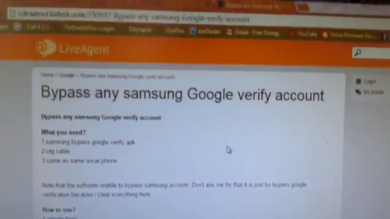 ⛔ Download samsung bypass google verify - by zen-j apk free
