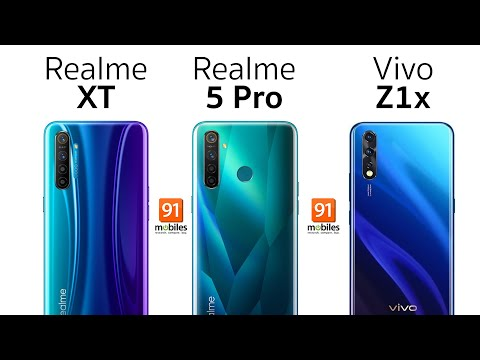 Realme XT vs Realme 5 Pro vs Vivo Z1X: Full camera comparison