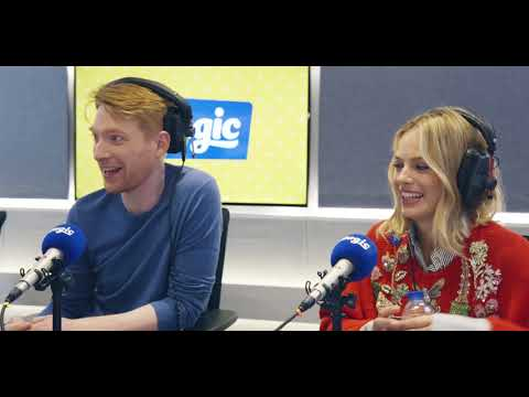 Domhnall Gleeson, Margot Robbie – and the difficulty of ordering a Starbucks!  Magic Radio