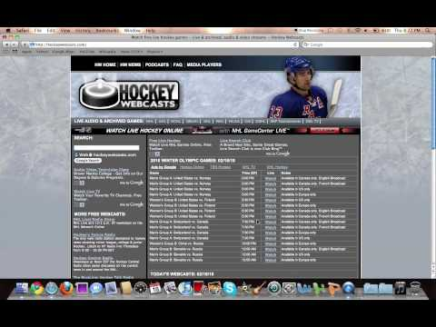 Watch Free Hockey Games Online Live