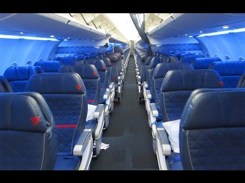 New Delta A321 cabin tour