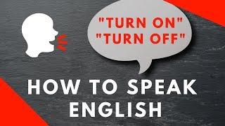 Free ESL Video Lesson Online - English Language Learning Phrasal Verbs
