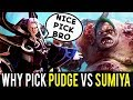 Never Pick Pudge vs Invoker God — SumiYa knows How to Counter Impossible Hook