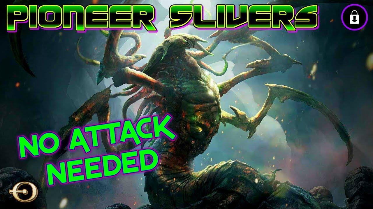 NO ATTACKS NEEDED!! NEW DECK! - 5C Slivers VS Jeskai Ascendancy Combo | PIONEER | MTGO Practice