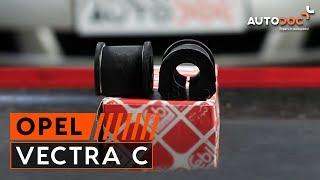 Guide: Sådan udskifter du stabilisatorstangsbøsning bagtli på OPEL VECTRA C