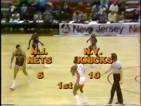 Knicks vs. Nets 2/12/78 highlights