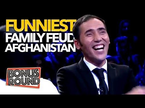 FUNNIEST MOMENTS EVER On Family Feud Afghanistan RO DAR RO رو در رو - لحظات برتر ! Bonus Round