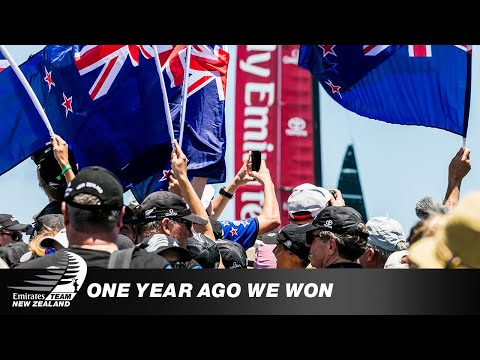 One year ago: The day we won the America's Cup back