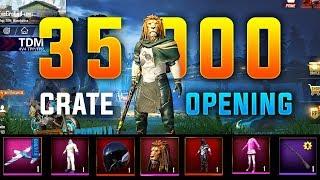35,000 UC CRATE OPENING | PUBG MOBILE | GodNixon