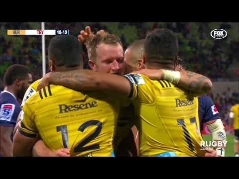 2018 Super Rugby Round Seven: Rebels vs Hurricanes