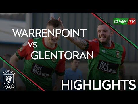 Warrenpoint Town vs Glentoran - 9th February 2019