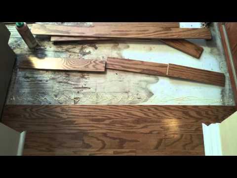Engineered Hardwood Repair
