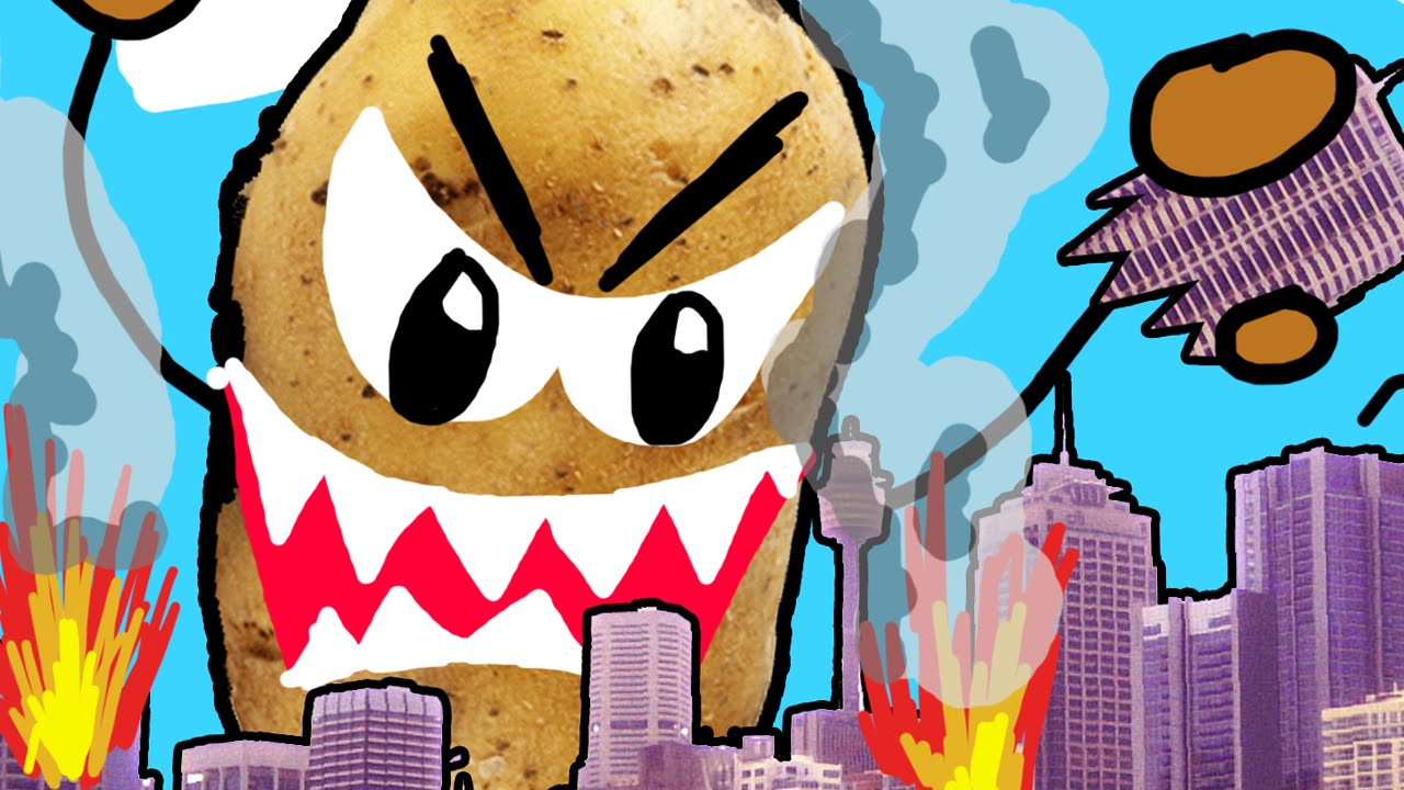 City Destroyed By Potato Drawing Your Comments Youtube