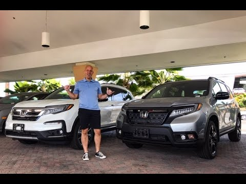 2019 Honda Pilot vs 2019 Honda Passport - 2 great SUV's, 1 winner