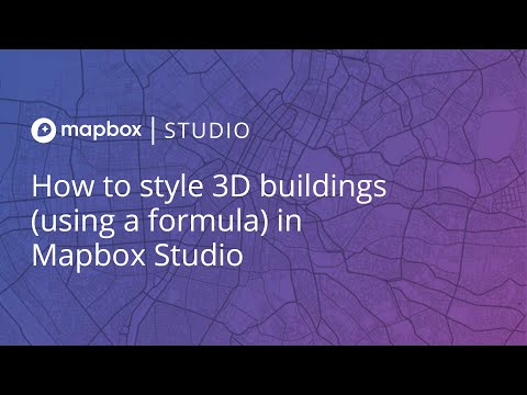 How to style 3D buildings (using a formula) in Mapbox Studio
