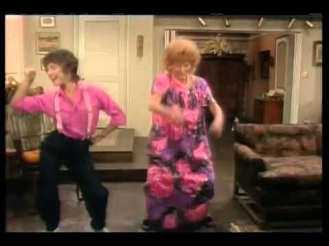 Jenny and Mrs. Roper Dancing
