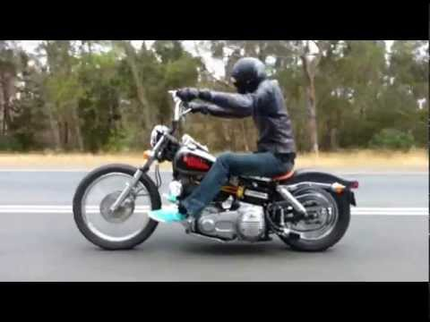Shovelin' Tasmania - Harley Shovelhead FXE ride