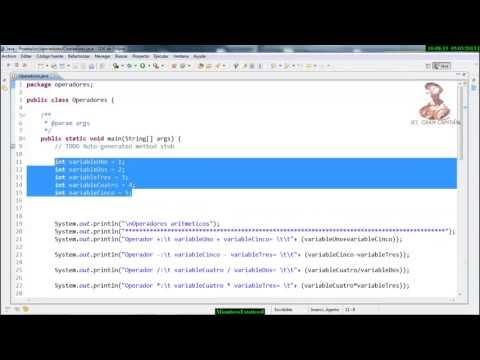 aprende-a-programar-en-java:-operadores-en-java