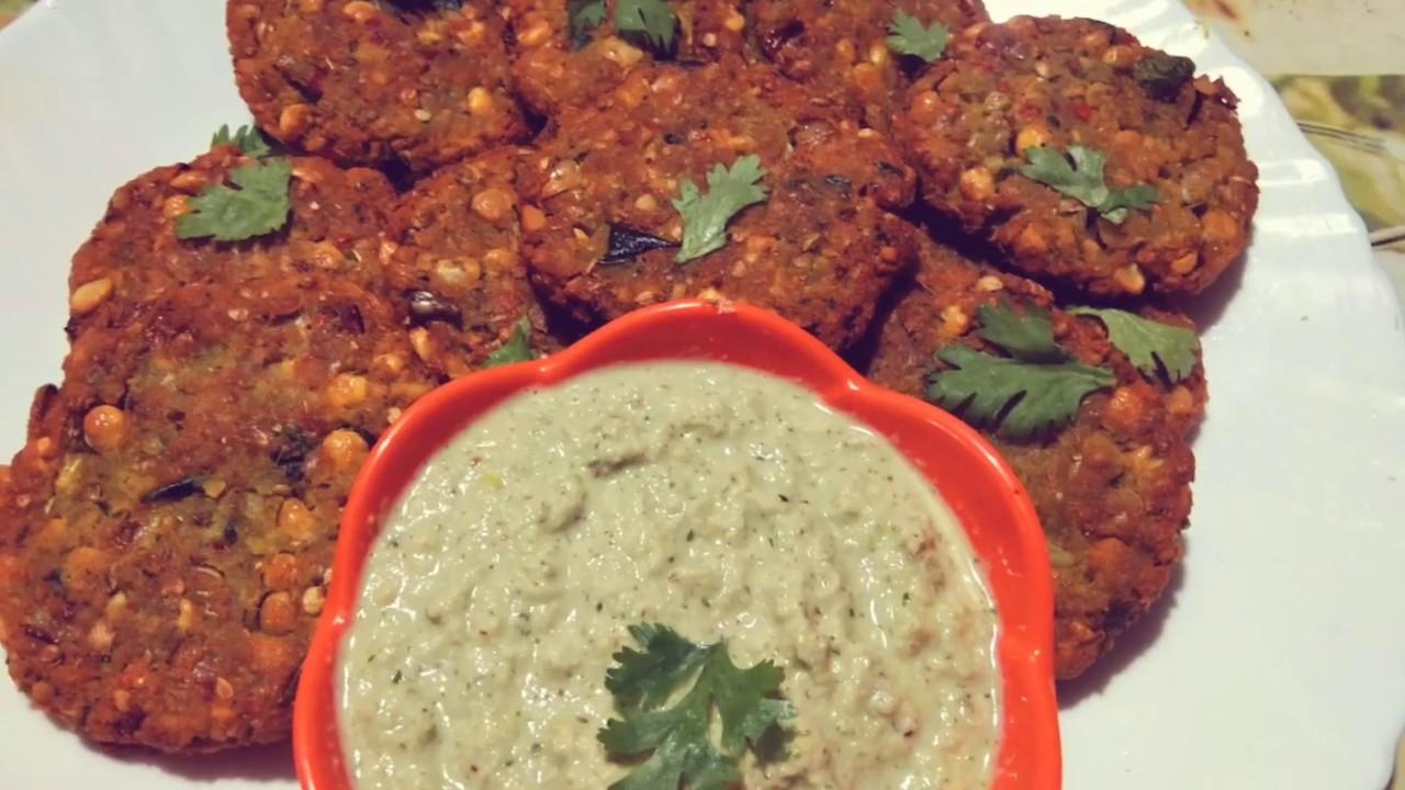 Crispy Dal vada Recipe Masala vada Recipe  How to make Dal vada chana dal vada