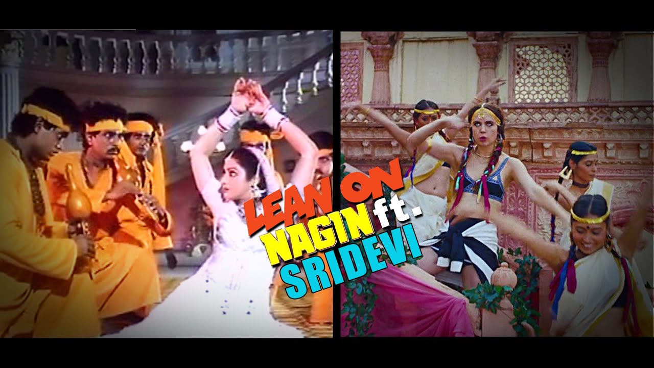 Sridevi Does Her 'Nagin' Dance to EDM Hit Lean On and It's Epic