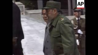 Cuba: Castro Attends Anniversary of Cohiba Cigars, Fujimori meets Fidel Castro, May Day Rally