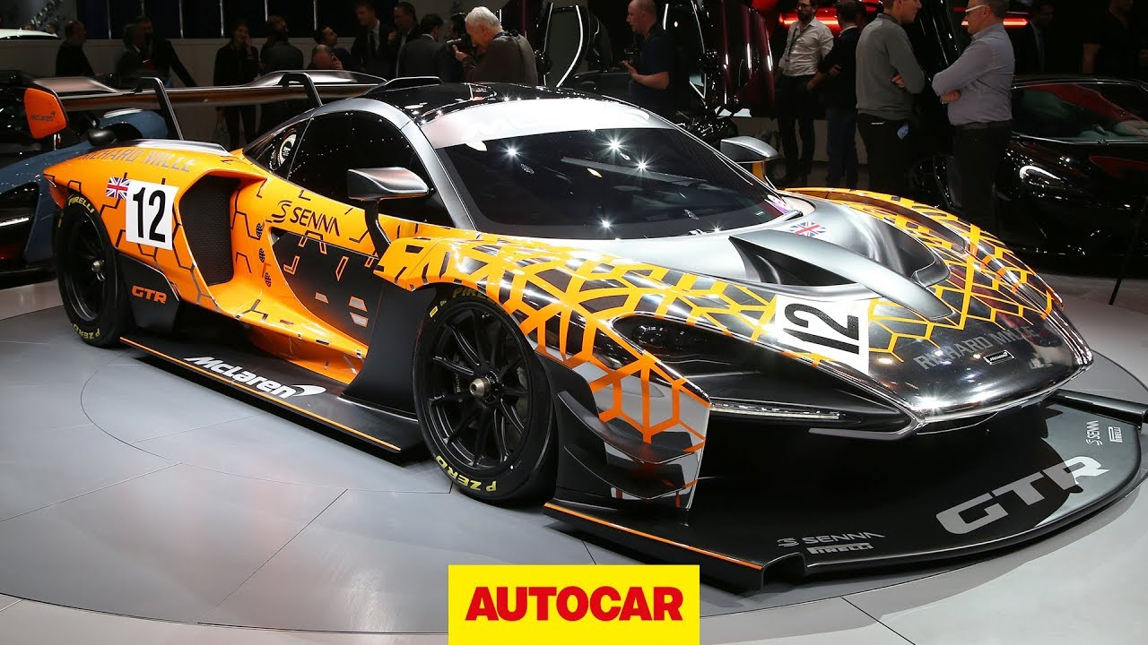 Extreme 814bhp Mclaren Senna Gtr Revealed At Geneva 2018 Autocar