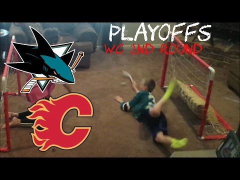 NHL PLAYOFFS - SHARKS/FLAMES - LOW FAMILY PRODUCTIONS