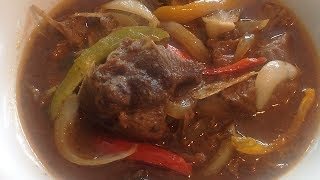 How to make Haitian Stewed Turkey