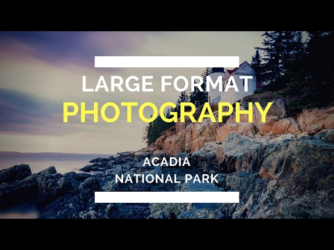 Landscape Photography at Acadia National Park in Maine
