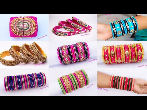 Silk Thread Bangles Collections | Silk Thread Bangles Sets | Latest Bangles Designs | uppunutihome