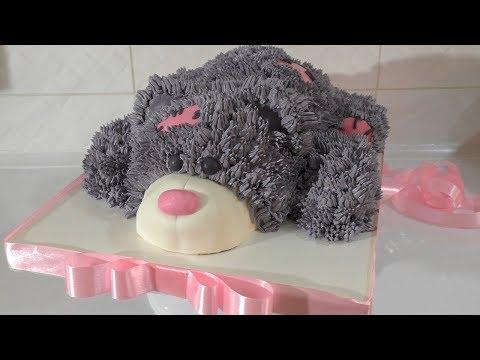 ТОРТЫ УДИВИТЕЛЬНЫЙ ТОРТ Cake ИДЕИ УКРАШЕНИЯ ТОРТОВ Торт мишка Тедди Торт ребенку своими руками