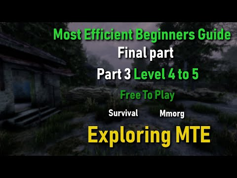 Will To Live Online: Most Efficient Beginners Guide, Part 3, Level 4 To 5, Final Part