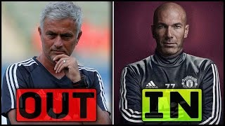 TOP 5 Managers Who Could Replace JOSE MOURINHO At MANCHESTER UNITED ft Zinedine Zidane