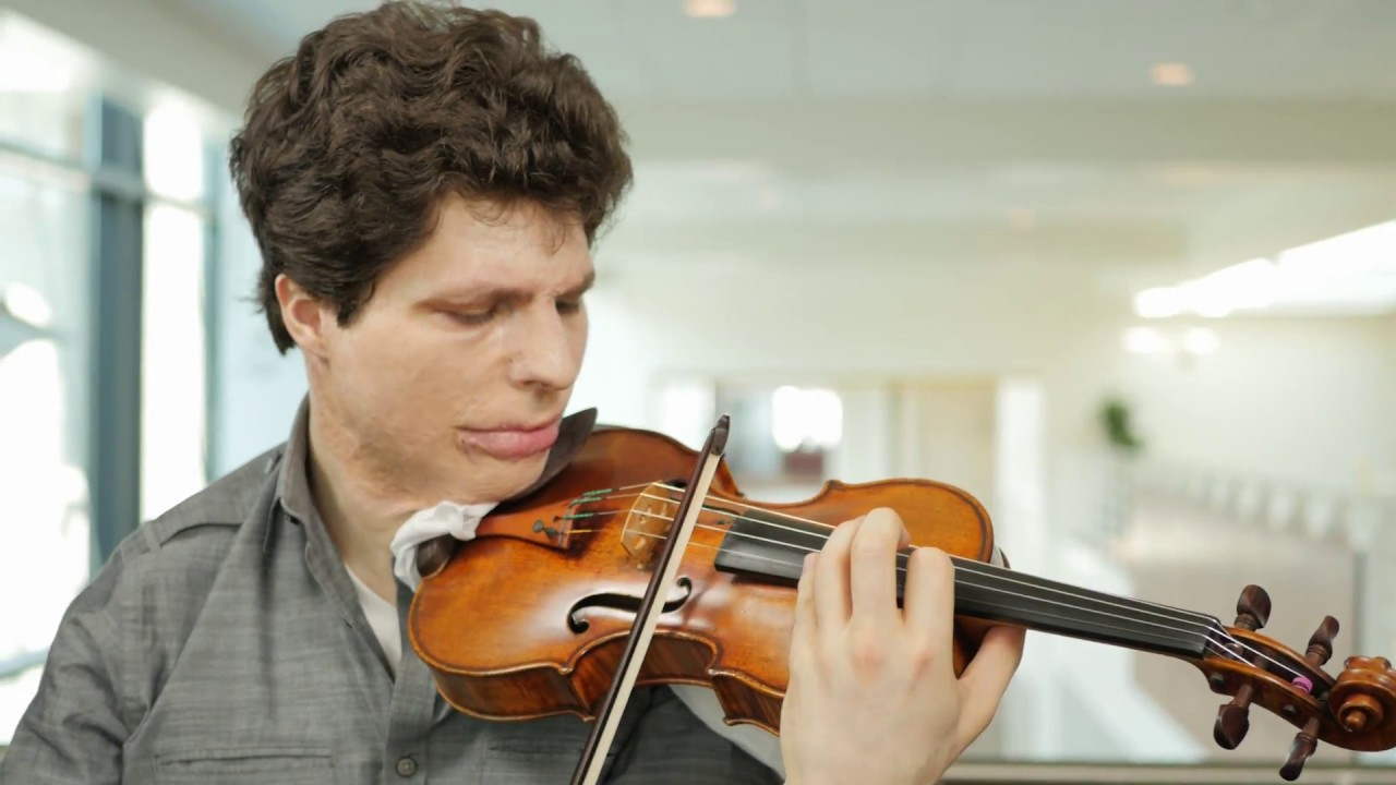 Artwork representing Five Questions with Violinist Augustin Hadelich
