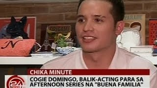 "Cogie Domingo, balik-acting para sa afternoon series na ""Buena Familia"""