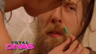 brie bella tries to lighten daniel bryan s beard total divas may 25 2014